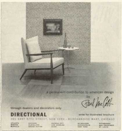 Here Is A Mid Century Modern Ad Featuring A Paul McCobb Chair.This Sold In  My Antique Booth For $12 U2013 It Came Out Of An Old Grocery Store Magazine.
