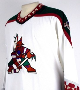 coyotes jersey