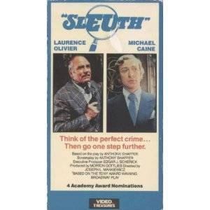 sleuth vhs