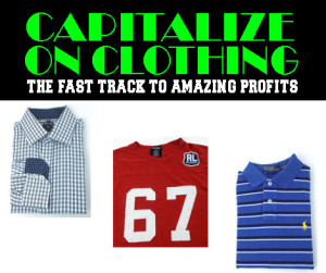 capitalize on clothing