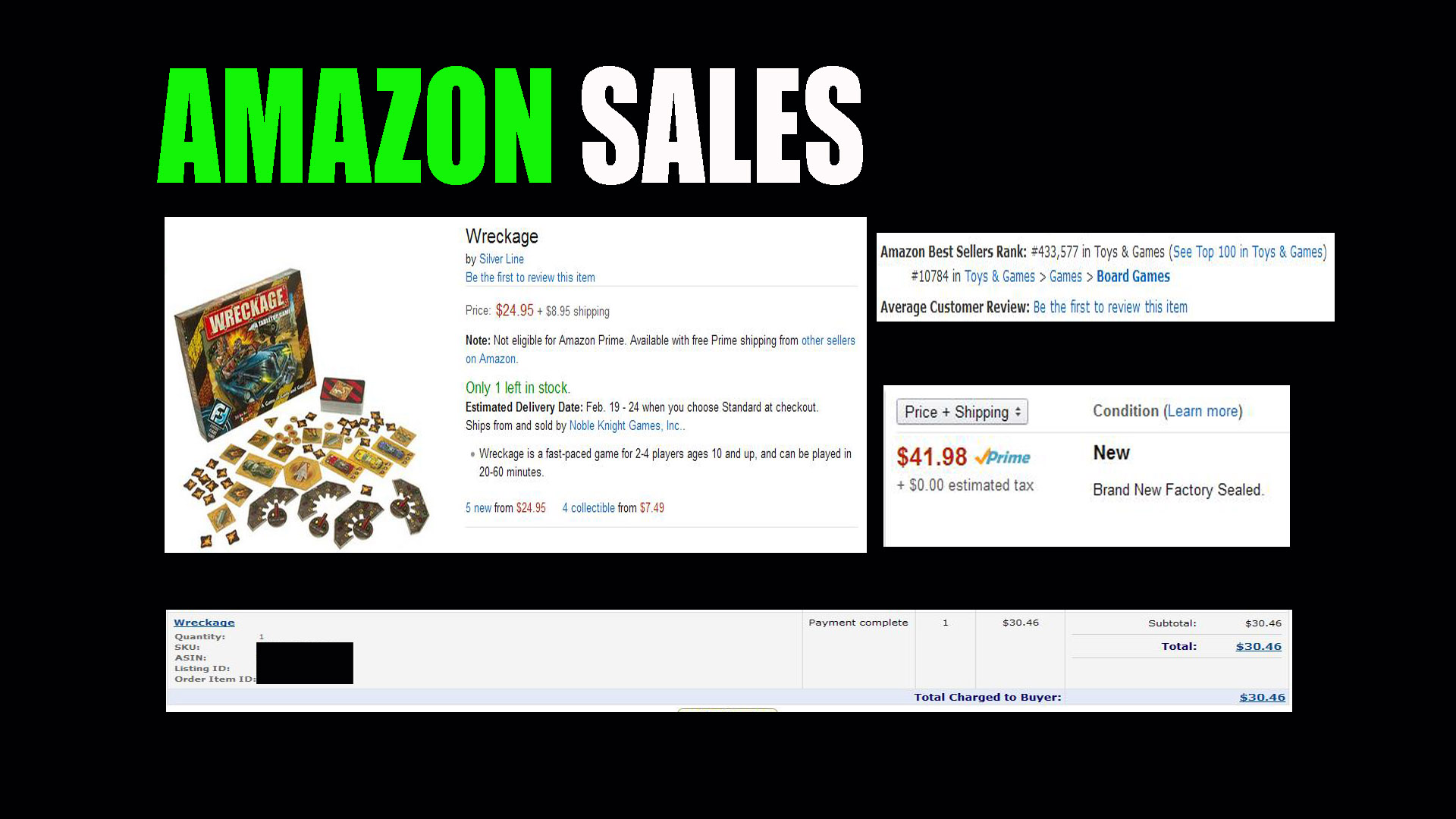 3 Items that Sold on Amazon FBA