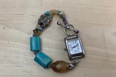 Sterling Silver Dangle Watch