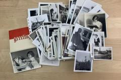 Lot of Vintage Black & White Photographs