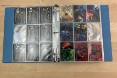 Binder full of Super Hero Cards & More