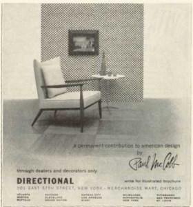 Paul McCobb Ad