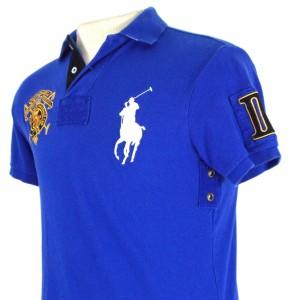 rl blue polo
