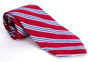 brooks red tie
